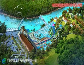 老挝琅勃拉帮梦幻水城