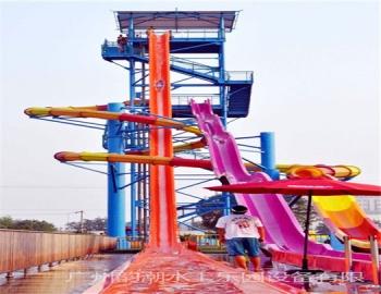 YC-ZR-48 高速组合滑梯